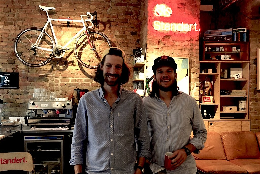 Standert Bicycles - Founder Max + PR hero Benedict