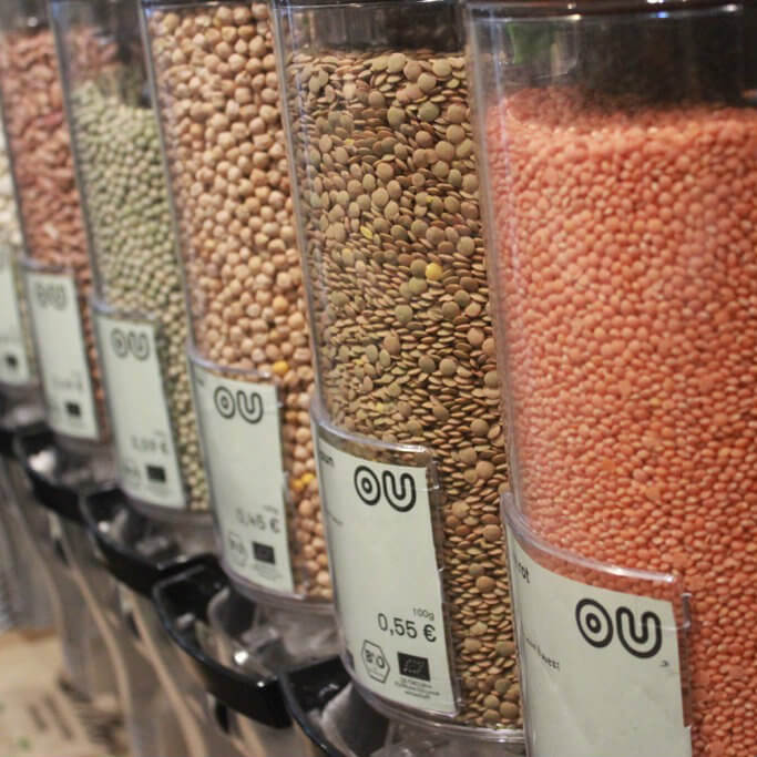 Original Unverpackt - Loose lentils, beans and more