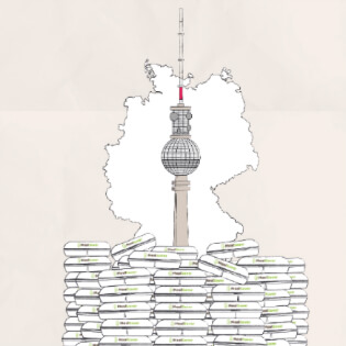 MealSaver - graphic tv tower | GreenMe Berlin Podcast