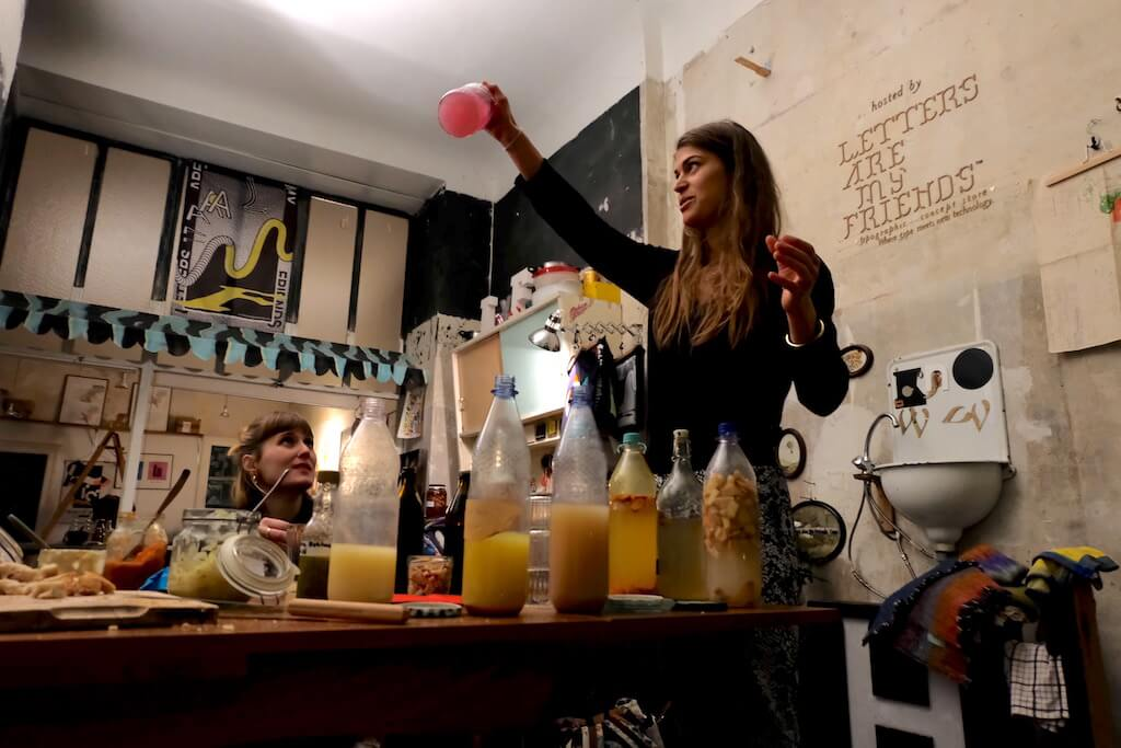 Edible Alchemy, ginger beer fermentation, Alexis Goertz | GreenMe Berlin Podcast