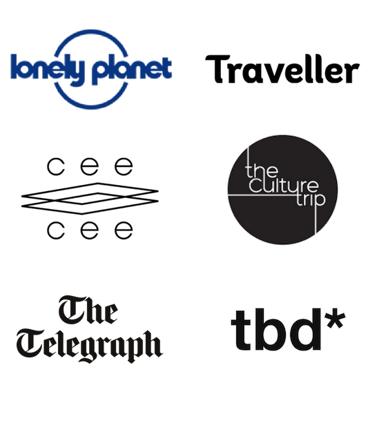 Logos of Media Features | GreenMe Berlin